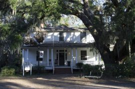 The Arnett House is also located on Penn Center's Campus next to the Gantt Cottage.