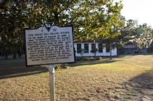 The Great Sea Island historical marker. (1/2)